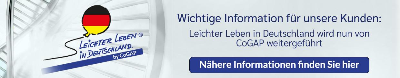 Information für unsere Kunden: Betreiberwechsel bei Leichter leben in Deutschland