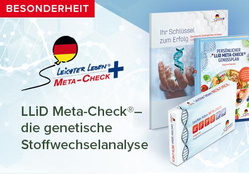 LLiD Meta-Check - die genetische Stoffwechselanalyse